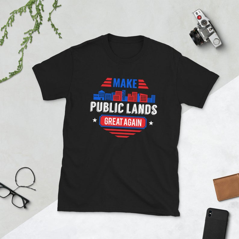 Funny Climate Change Environment Earth Day Shirt Make Public image 0