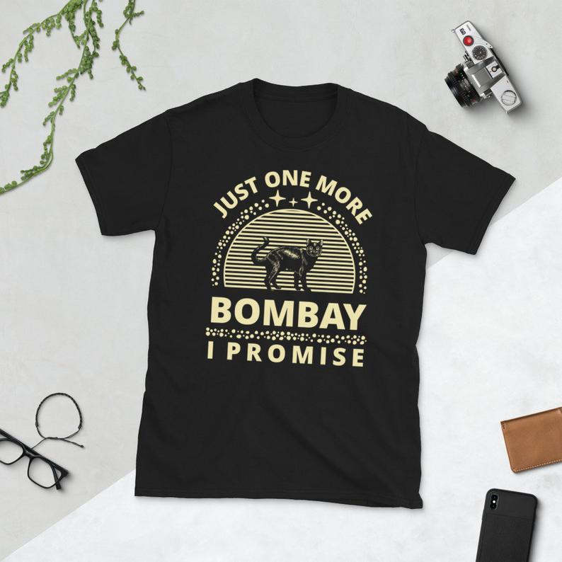 Cat Shirt Cat Owner Kitty Cats Lover Just One More Bombay image 0