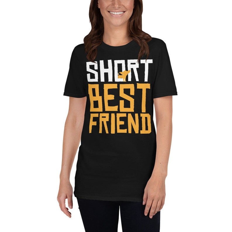 Best Friends Shirt Short Best Friend Funny Dogs Chihuahua image 0