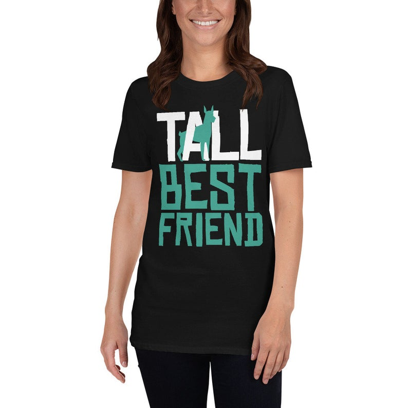 Best Friends Shirt Tall Best Friend Funny Dogs Chihuahua Shirt image 0