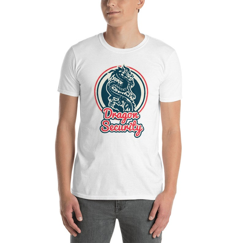 Security Shirt Funny Event Security Dragon Security image 0