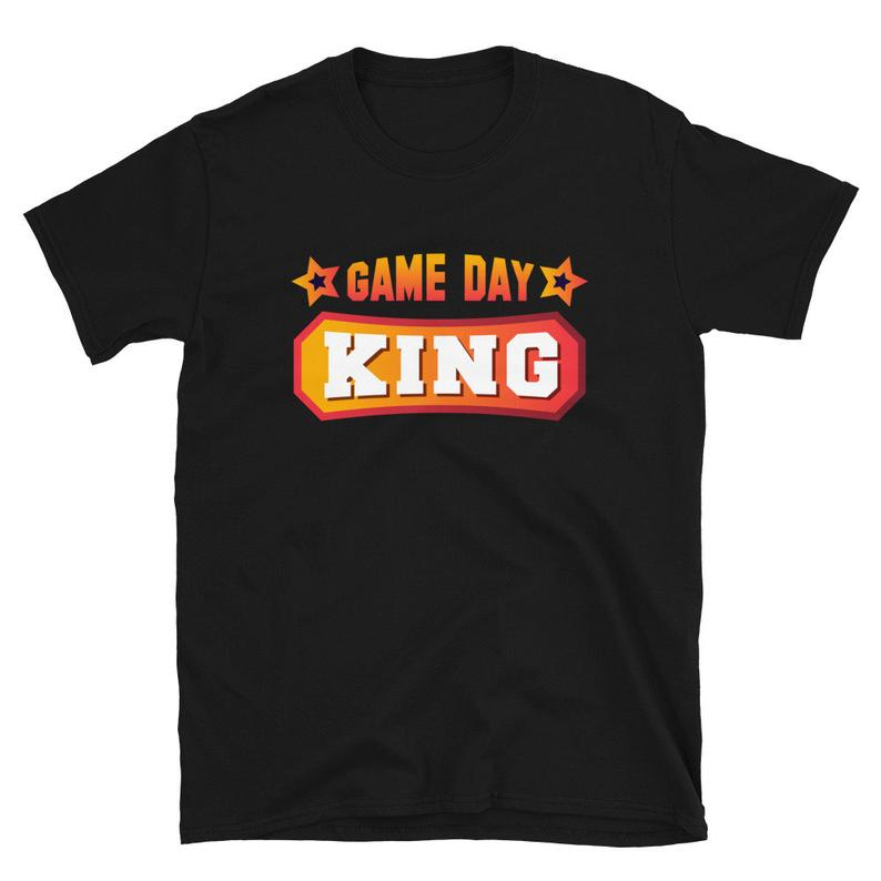 Game Day Shirt Game Day King College Football Sports Drinking image 0