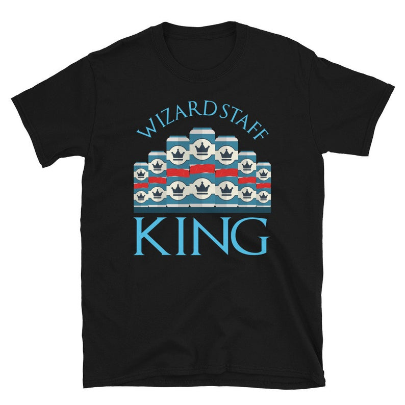 Beer Pong Shirt Beer Pong Wizard Staff King Drinking Games image 0