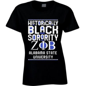 Alabama State University Zeta Phi Beta HBCU Black Greek image 0