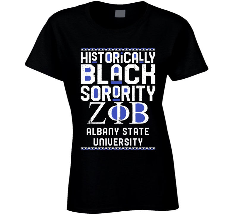 Albany State University Zeta Phi Beta HBCU Black Greek image 0