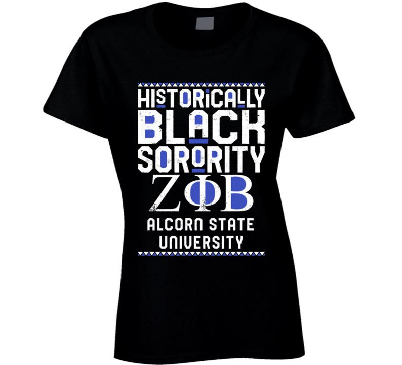 Alcorn State University Zeta Phi Beta HBCU Black Greek image 0