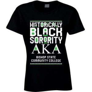 Bishop State Community College Alpha Kappa Alpha HBCU Black image 0