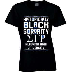 Alabama A&m University Sgrho Sigma Gamma Rho HBCU Black image 0